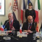 A Lampedusa i capi della Polizia europei del gruppo ERMES