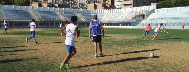 Akragas, doppia seduta di allenamento allo stadio Esseneto