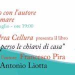 """Licata, domani Aperitivo con l'Autore al Miramare con il primo romanzo di Andrea Cellura  """"Ho perso le chiavi di casa"""""""