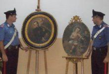Aragona, ritrovati i due quadri rubati 4 anni fa dalla chiesa Madre: nei guai un 73enne