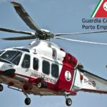 Porto Empedocle, veliero in difficoltà: interviene l'elicottero, tratto in salvo marinaio