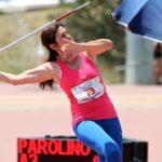 Campionati Italiani individuali, l'atleta agrigentina Giusi Parolino medaglia d'oro al lancio del Giavellotto