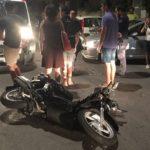 Scontro auto-moto a San Leone: centauro finisce in Ospedale – FOTO