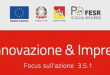 """""""Innovazione & Imprese"""", ad Agrigento il focus sull'Azione 3.5.1"""