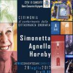 A Simonetta Agnello Hornby la cittadinanza onoraria di Canicattì