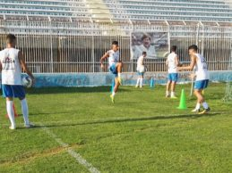 Akragas, allenamento allo stadio Esseneto: domani partenza per la trasferta di Matera