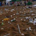 Notte del Ferragosto, il giorno dopo: ecco come si presentano le spiagge – FOTO