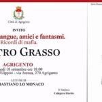 Agrigento, il presidente del Senato Grasso presenterà il suo ultimo libro