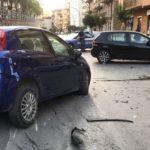Favara, scontro fra auto: ferite due persone – FOTO