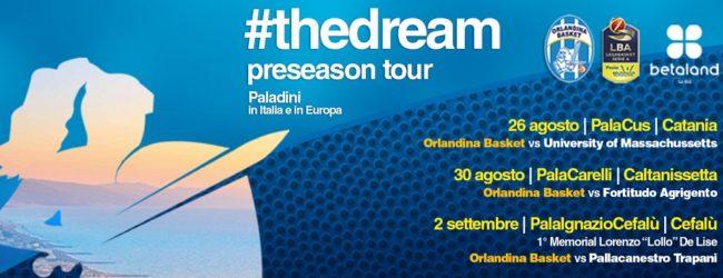 Basket, l'Orlandina in ritiro ad Agrigento: il 30 agosto amichevole con la Fortitudo Moncada