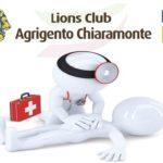 Lions Agrigento Chiaramonte, sabato l'evento sul primo soccorso al Lido Bellavista