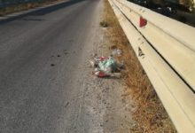 """Abbandono di rifiuti sulle strade provinciali: Polizia Provinciale sanziona """"incivili"""""""