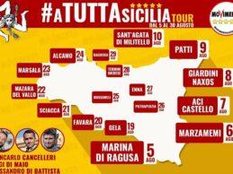 """Parte il tour del Movimento 5 Stelle in vista delle regionali: """"tappa"""" anche nell'agrigentino"""