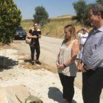 Giorgia Meloni visita la stele in ricordo del giudice Rosario Livatino