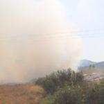 """Agrigento, incendio a Fontanelle: nube di fumo """"avvolge"""" il quartiere – FOTO"""