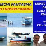 """""""Sbarchi fantasma"""", manifestazione di """"Noi con Salvini"""" alla Scala dei Turchi"""
