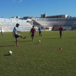 Akragas, seduta d'allenamento all'Esseneto in vista della sfida contro il Lecce