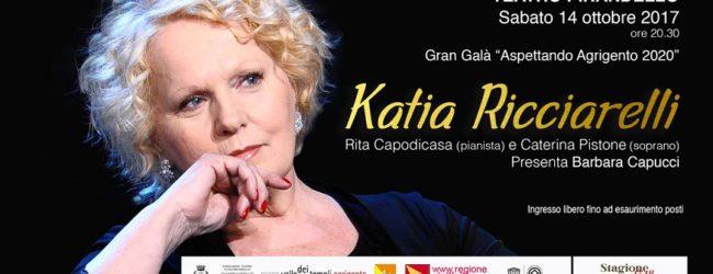 """""""Aspettando Agrigento 2020"""", Katia Ricciarelli al Teatro Pirandello"""