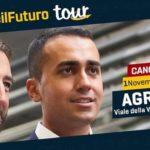 Elezioni Regionali, Di Maio ad Agrigento chiude la campagna elettorale del M5s