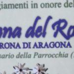 Aragona, si avviano a conclusione i festeggiamenti in onore della Madonna del Rosario
