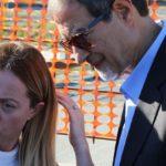 """Giorgia Meloni ad Agrigento per il Viadotto Petrusa: """"Delrio, dove sono i soldi per le infrastrutture?"""" – FOTO E VIDEO"""