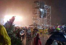 Piove su Lampedusa: interrotto il concerto di Claudio Baglioni