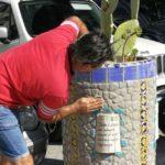 Agrigento, si completa l'opera dei vasi in piazza Vittorio Emanuele