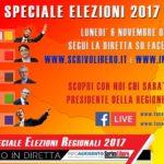 Speciale Elezioni Regionali: su Scrivo Libero la diretta del voto