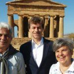 """Alberto Angela alla Valle dei Templi per il programma """"Meraviglie. La penisola dei tesori"""""""