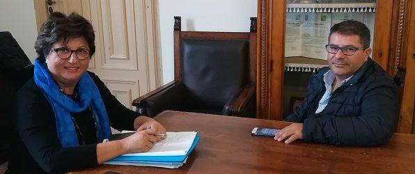 Licata, incontro tra il commissario Brandara ed il neo deputato regionale Pullara