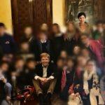 """Agrigento, piccoli studenti del plesso """"Giuseppe Fava"""" di Monserrato in visita al Comune"""