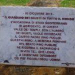 """L'Accademia di Studi Mediterranei renderà omaggio ai """"giusti"""""""