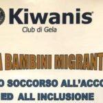 Gela, conferenza del Kiwanis all'Istituto Mattei sui bambini migranti