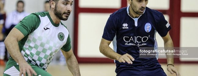 Brutta prova dell'Akragas Futsal: Mabbonath troppo forte per i biancazzurri – FOTO