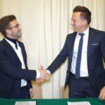 Giuseppe Petix (Aics) sigla il Protocollo con gli Imprenditori Sicilia
