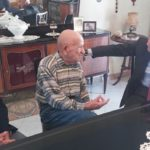 Realmonte, il Questore Auriemma incontra l'anziano maresciallo a riposo Licata