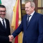 Canicattì, visita privata dei Consoli di Romania all'Amministrazione Comunale