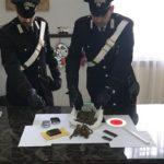 Ravanusa, fatale la bellavita di un 33enne: arrestato con un chilo di marijuana pronta alla vendita
