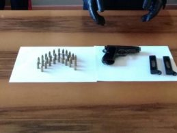 Pistola e cartucce sotto un lavandino: in manette un agricoltore palmese