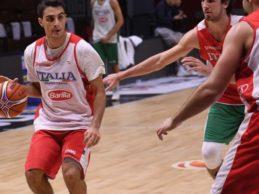 Basket, termina il raduno della Nazionale: in mostra Guariglia e Zugno