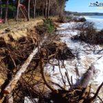 """Erosione sulle coste di Eraclea Minoa, Mareamico: """"lenta agonia"""" – VIDEO"""