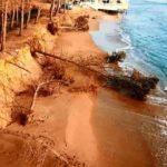 """Erosione costiera a Eraclea Minoa, Savarino: """"chiamati a mettere una pezza ad errori passati"""""""
