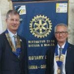 """Aragona, nuove attività per il Rotary Club """"Colli Sicani"""""""