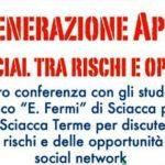 """Lions Club Sciacca Terme, al Liceo """"E. Fermi"""" una conferenza sulla """"Generazione App"""""""