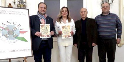 Agrigento, l'ANCRI consegna due pergamene all'Ispettore Maria Volpe e al professor Francesco Pira
