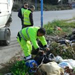 Agrigento, abbandono indiscriminato di rifiuti: elevate tre sanzioni – FOTO