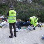 Agrigento, spazzatura per strada: maxi sanzione per responsabili