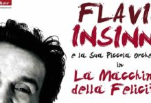 """Flavio Insinna ad Agrigento con il suo """"La Macchina della Felicità"""""""
