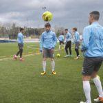 Verso Bisceglie-Akragas: allenamento di rifinitura dei biancazzurri a Cosenza