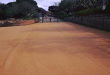 Agrigento, asfalto color tufo per la Passeggiata Archeologica